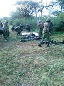 22 police officers killed in Kapedo, Turkana East